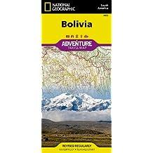 Bolivia Adventure Map