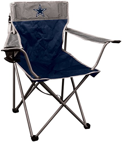 NFL Portable Canvas Folding Kickoff Chair with Cup Holder and Carrying Case ()