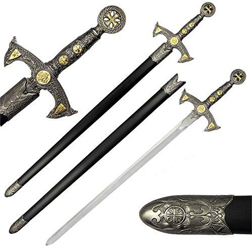 Medieval 12th Century Templar Knight Crusader Sword ()