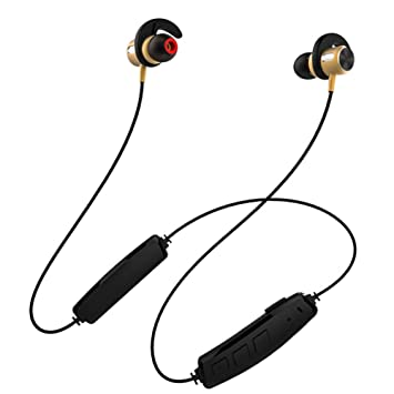 Zhrqinss Auriculares Bluetooth Auriculares Deportivos Inalámbricos con Doble Función Auriculares Internos Inteligentes Interruptores Magnéticos Inteligentes ...