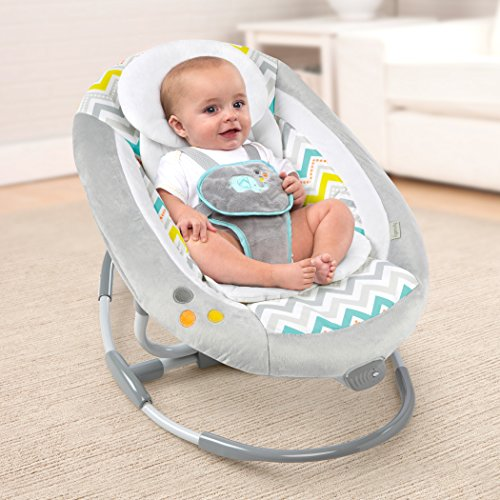 Ingenuity Inlighten 2-in-1 Cradling Swing - Avondale