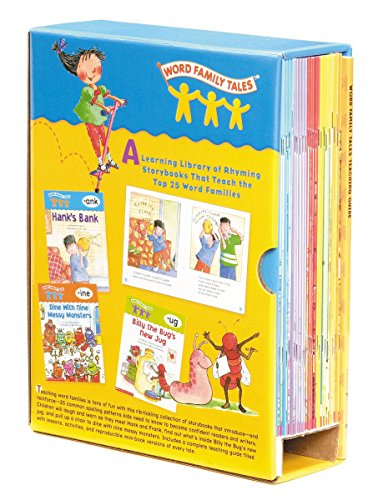 Word Family Tales Box Set: A Series of 25 Books and a Teaching Guide -