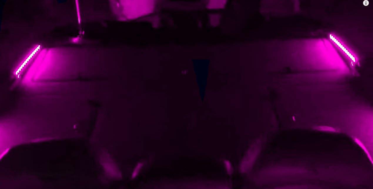 BLAST LED NOX Series Interior LED Light kit - Boat LED Front Deck Light Kit RED