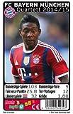 """Quartett, Fußball """"FC Bayern München """" 2015 vom Sportverlag Teepe"""