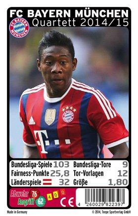 Teepe 22397 Fc Bayern Munchen Quartett 2014 2015 Spiel