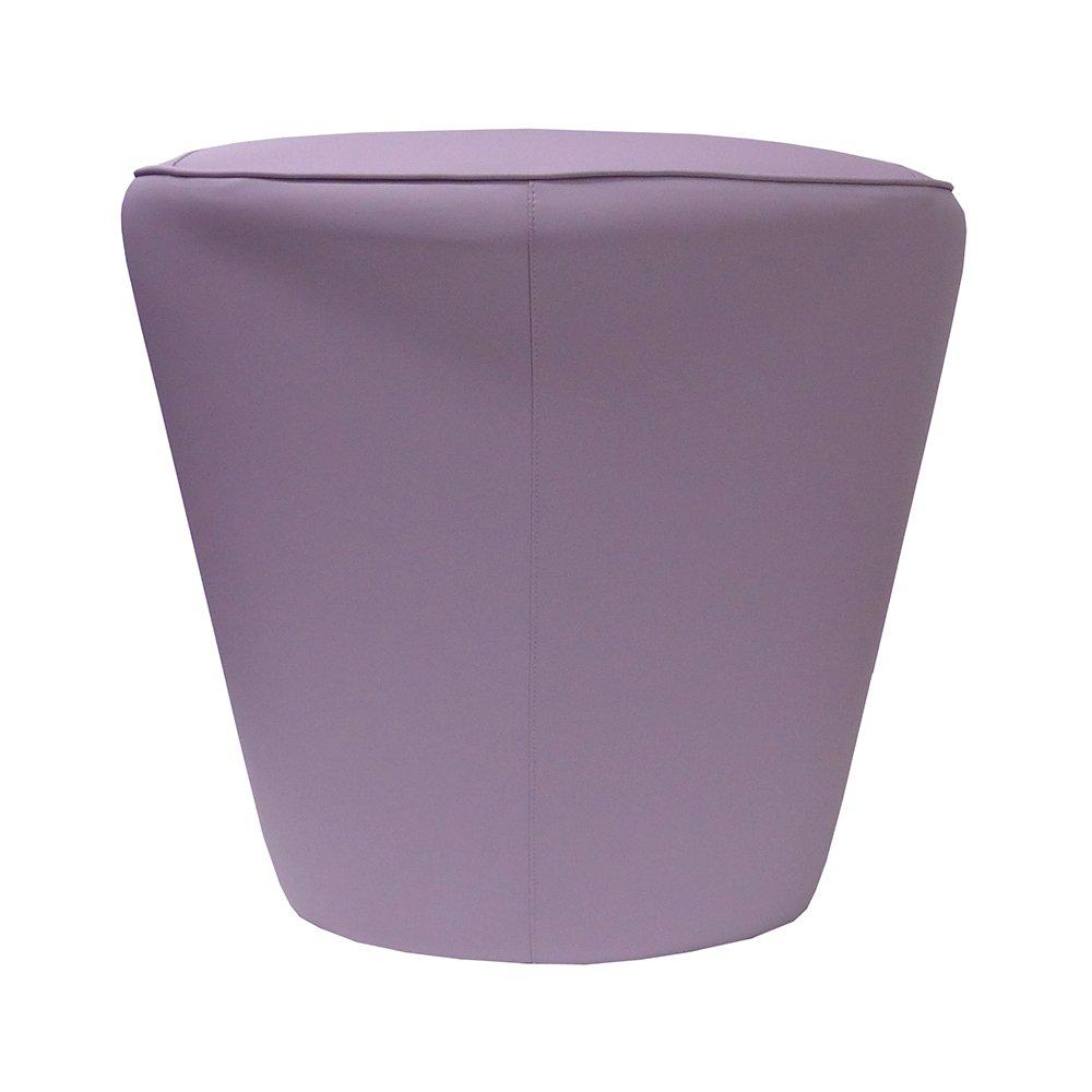 Sillón de eco-piel lila fabricado en Italia para oficina ...