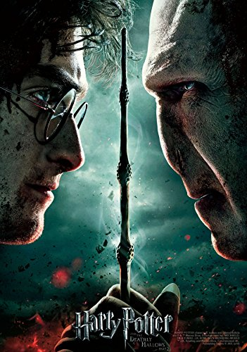 Click for larger image of Trends International 8.25x11.75 MDF-Harry Potter-Deathly Hallows 2 Wall Poster, 8.25' x 11.75', Multicolor