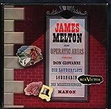 James Melton in OPERATIC ARIAS from DON GIOVANI, DIE ZAUBERFLOTE, LOHENGRIN, DIE MEISTERSINGER, MANON. 3 Red Vinyl records , RCA RED SEAL.