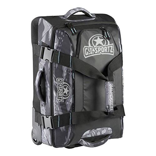 GI Sportz Paintball FLY'R 2.0 Carry On Gear Bag - Tiger Black by GI Sportz