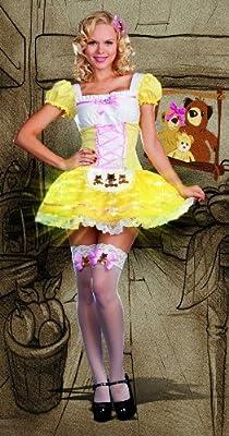 Glowing Goldilocks Adult Costume - Small