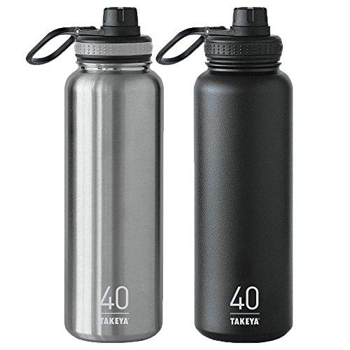 Takeya ThermoFlask Pack Steel Asphalt product image