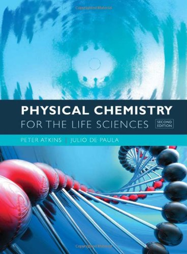 Physical Chemistry F/Life Sciences