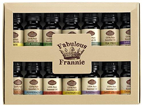 Amazon Lightning Deal 100% claimed: Fabulous Frannie Essential Oil Beginner Starter, 10 ml (Pack of 14)