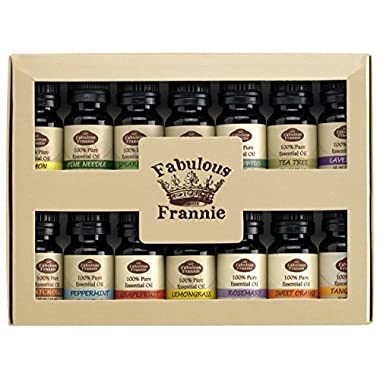 Fabulous Frannie Essential Oil Beginner Starter, 10 ml (Pack of 14)