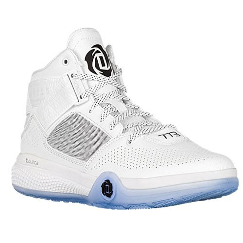 new product 3f866 b3402 Galleon - Adidas Mens D Rose 773 IV Basketball Shoes (White Black White -  Size 12.5)