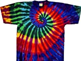 Tie Dyed Shop Extreme Rainbow Spiral Tie Dye T Shirt-4X-Multicolored offers