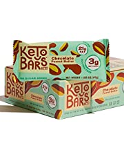 Keto Bars The Original Keto Snack Bar, Gourmet Simple Ingredients Low Carb, No Sugar,  Rich in Ketogenic Fats, The Perfect KetoBars Snacks for Keto Diet Food Products (10 Pack, 1.65 ounce)