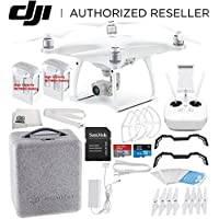 DJI Phantom 4 Advanced Quadcopter High Capacity Essentials Bundle