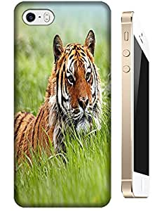 Tiger Case Cover Hard Back Cases Beautiful Nice Cute Animal hot selling cell phone cases for Apple Accessories iPhone 4/4S # 1