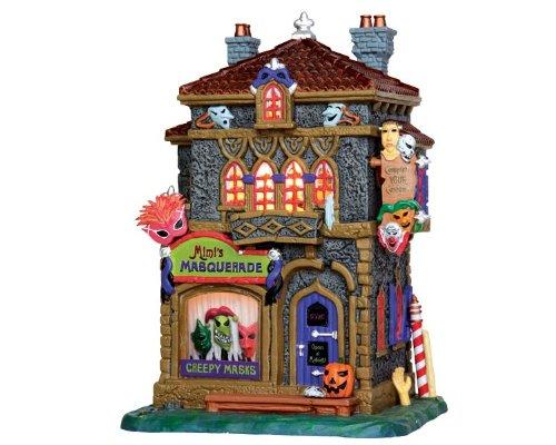 Lemax 35497 Mimi's Masquerade Spooky Town Village Building Halloween Decor