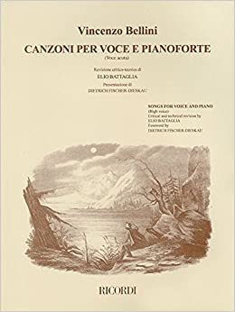 //ZIP\\ CANZONI PER VOCE E PIANOFORTE SONGS FOR VOICE AND PIANO VOLUME 1 HIGH VOICE. through group largest numero Click Ministar weekly since