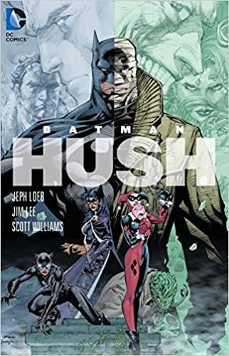 Amazon Batman Hush 9781401223175 Jeph Loeb Jim Lee Books