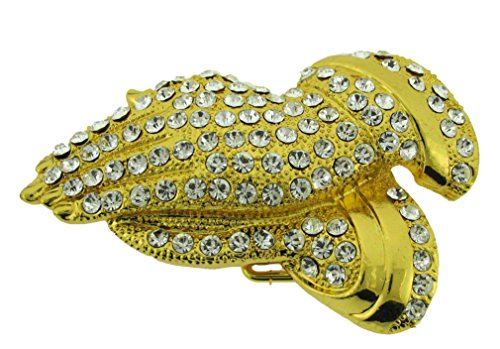 Prayer Praying Hands Religion Faith Rhinestone Belt Buckle Costume Halloween New ()