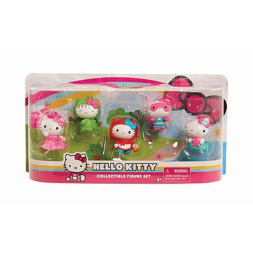 Hello Kitty Collectible Figure Set ( 5 (Hello Kitty Collectables)