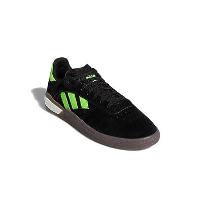 adidas Originals Mens 3ST.004 Skateboarding Shoes Core Black/Cloud White/Gum EE6151   Skateboarding