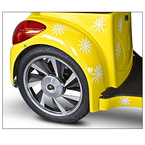 E Wheels Happy Day Lemon Yellow Custom Electric Mobility