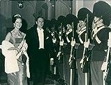 Vintage photo of Queen Margrethe II of Denmark
