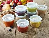 QOOC Baby Food Storage Freezer Containers, BPA-Free