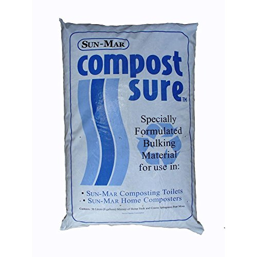 Sun Mar Compost (Sun-Mar CompostSure Composting Accelerator for Waterless Systems - 5 Bags)