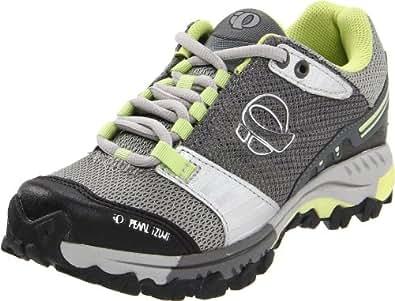 Pearl iZUMi Women's X-Alp Seek IV Cyling Shoe,Limestone/Silver,36 M EU