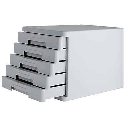WSNBB Mueble De 5 Capas Archivo, Cajón del Gabinete De Datos A4 De ...