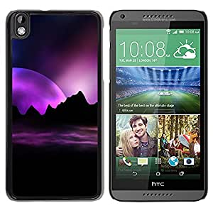 Stuss Case / Funda Carcasa protectora - Rising Of The Purple Sun - HTC DESIRE 816