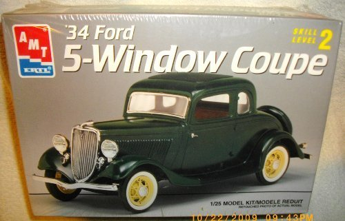 Review '34 Ford 5-Window Coupe