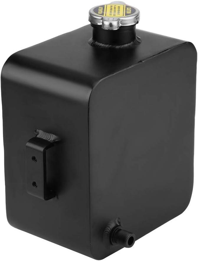 2.5L Depósito del Tanque de Agua de Refrigerante del Radiador para Coche, Tanque de Expansión de Desbordamiento de Refrigerante de Aluminio