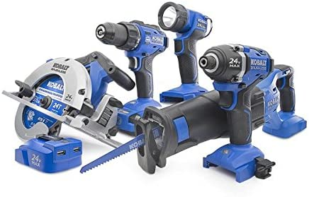 Kobalt 6-Tool 24-volt Max Lithium Ion Cordless Combo Kit