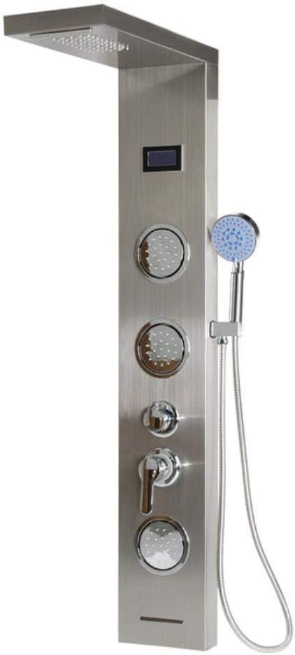 Ducha de lluvia de baño de alta calidad Pantalla LCD LED Cascada ...