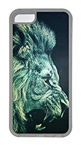 iPhone 5c case, Cute Lion 14 iPhone 5c Cover, iPhone 5c Cases, Soft Clear iPhone 5c Covers