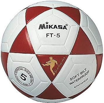 MIKASA FT5 Balón de fútbol, Unisex, Blanco/Negro, 5: Amazon.es ...