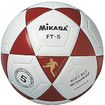 Mikasa FT5 Balón, Unisex, Blanco/Rojo, 5: Amazon.es: Deportes y ...
