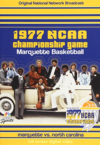 1977 Ncaa Basketball (1977 Ncaa Chamionship Game: Marquette Basketball)