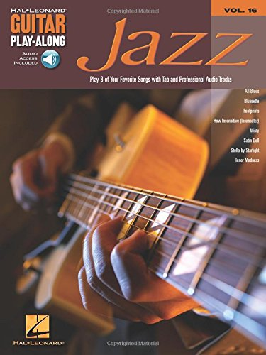 Jazz: Guitar Play-Along Volume 16