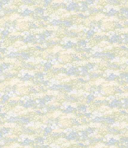 Brewster 413-41322 Andover Miniatures VI Esther Blue Floral Motif - Andover Miniatures