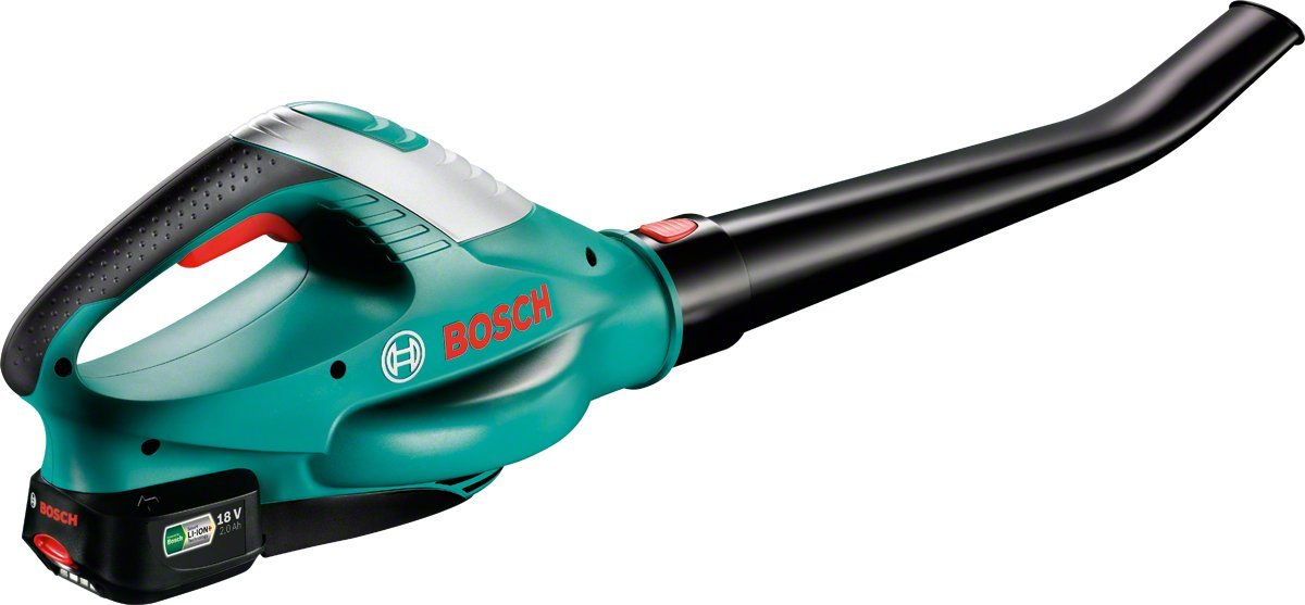 Bosch ALB 18 LI Cordless Leaf Blower with 18 V 2.0 Ah Lithium-Ion Battery 06008A0570