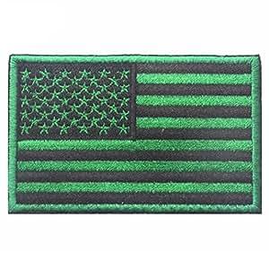 sagton® América Bandera Parche Bordado brazalete verde