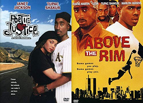 Tupac Shakur Classics From Street Ball and Road Trips: Above The Rim & Poetic Justice DVD Collection 2 Feature ()