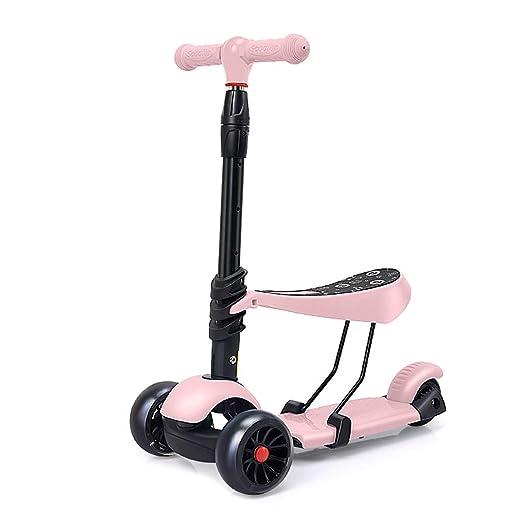 Patinetes Scooter para niños 3-6 años Scooter de 3 Ruedas ...